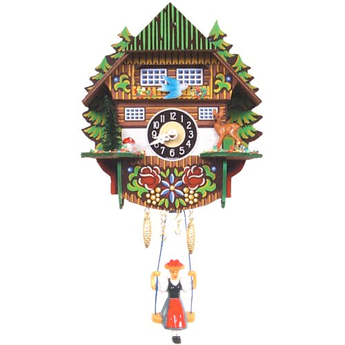 Mountain Chalet Cuckoo Clock