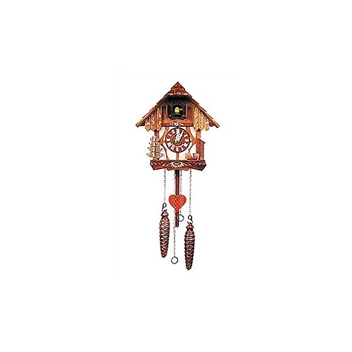 Two Story Chalet Cuckoo Clock