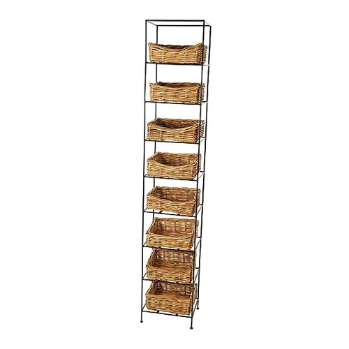 Eco Displayware Eco-Friendly 8 Tier Storage Tower Stand