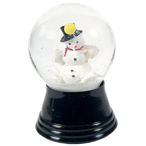 Alexander Taron Small Snowman Snow Globe