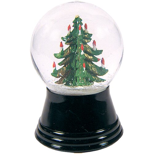 Alexander Taron Small Christmas Tree Snow Globe