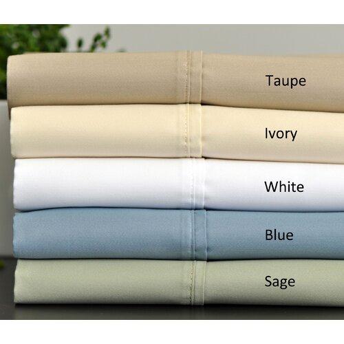 Aspire Linens 600 Thread Count Cotton Rich Sheet Set