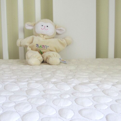 Organic Smooth Top Natural Fiber Crib Mattress Pad