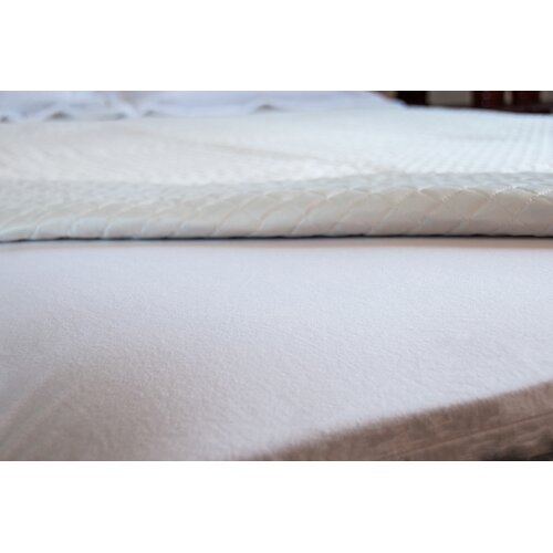 Greenzone Sleep Terry Crib Mattress Pad