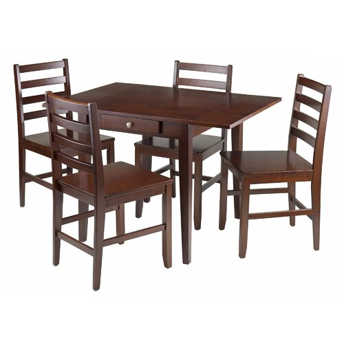 Hamilton 5 Piece Dining Table Set Wayfair