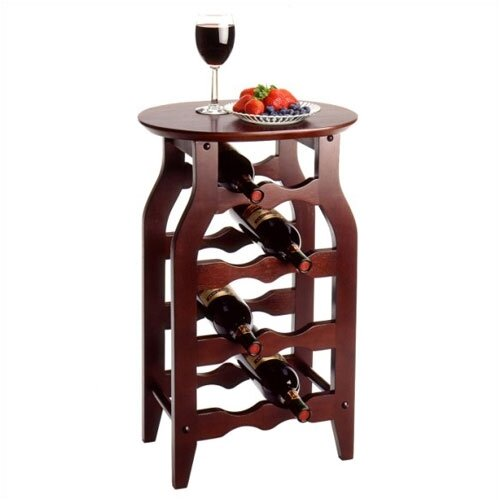 Winsome Espresso 8 Bottle Wine Rack