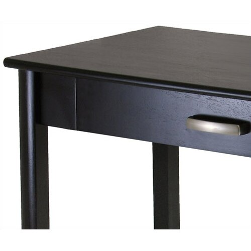Winsome Liso Computer Desk with Pull-Out Keyboard Tray