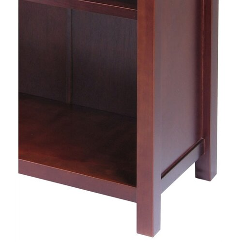 """Winsome Milan 43"""" Bookcase"""