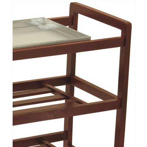 Winsome Shoe Rack with Shelves