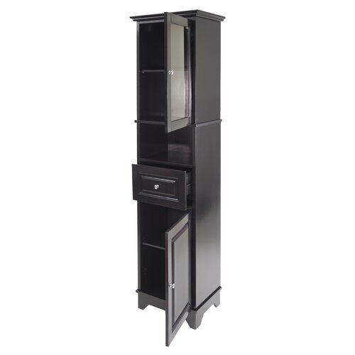 Winsome Alps 1 Drawer Tall Cabinet