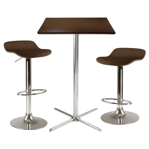 Winsome Kallie 3 Piece Pub Table Set