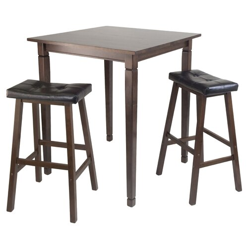 Kingsgate 3 Piece Counter Height Pub Table Set