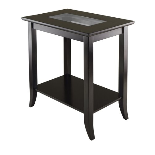 Winsome Genoa End Table Reviews Wayfair