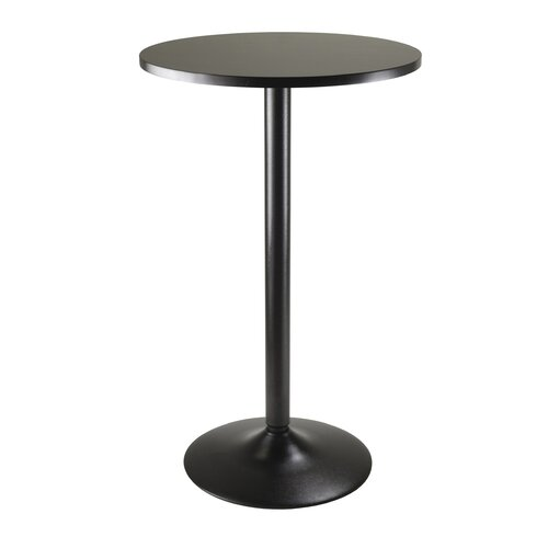 Winsome Obsidian Counter Height Pub Table