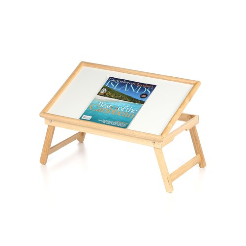Winsome Breakfast Tray with Flip Top and Foldable Legs