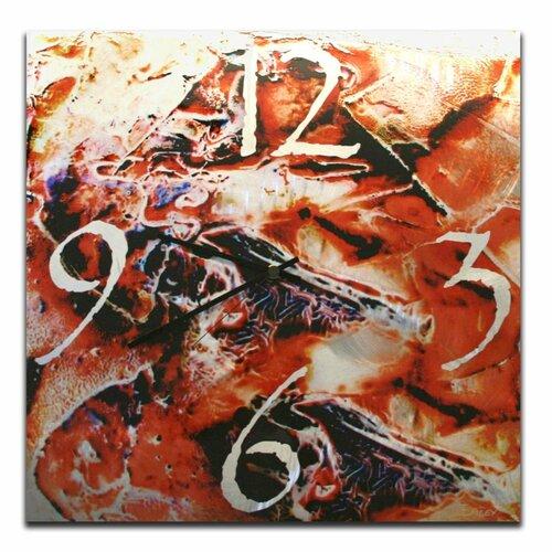 "Metal Art Studio 22"" Hot Jazz Wall Clock"