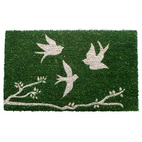 Entryways Sweet Home Trio of Birds Doormat