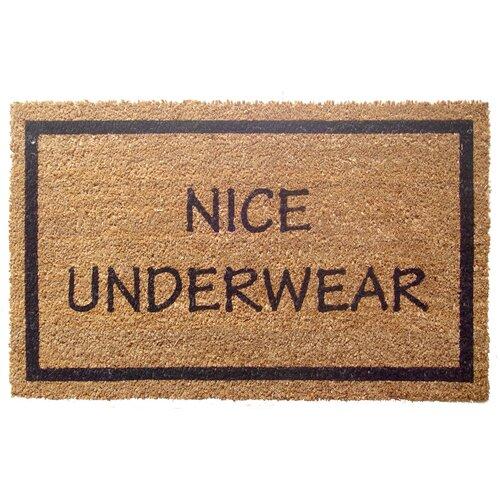 Entryways Sweet Home Nice Underwear Doormat