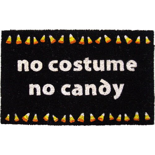 Entryways Sweet Home No Candy Doormat