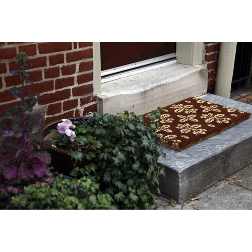Entryways Handmade Extra Thick Fall Pattern Doormat