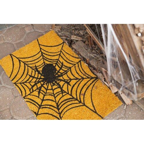 Entryways Sweet Home Spider Web Doormat