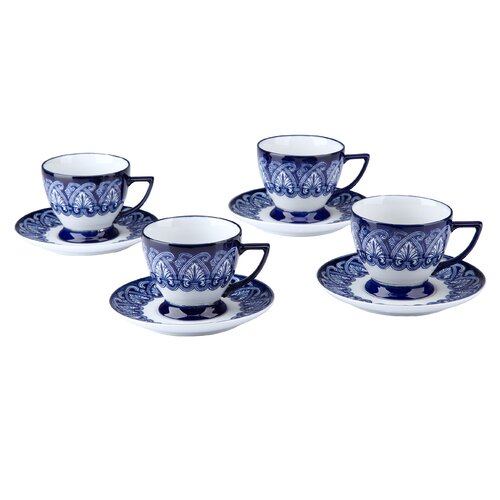 Bombay Heritage Tile Teacup and Saucer