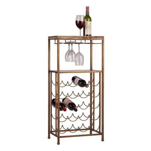 Bombay Heritage Reverse Painted 20 Bottle Wine Rack
