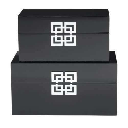 Shanghai Boxes (Set of 2)