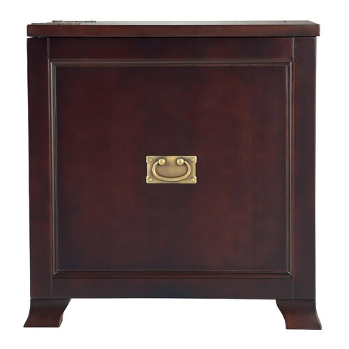 Bombay Heritage Wexford Storage End Table Trunk with Tray