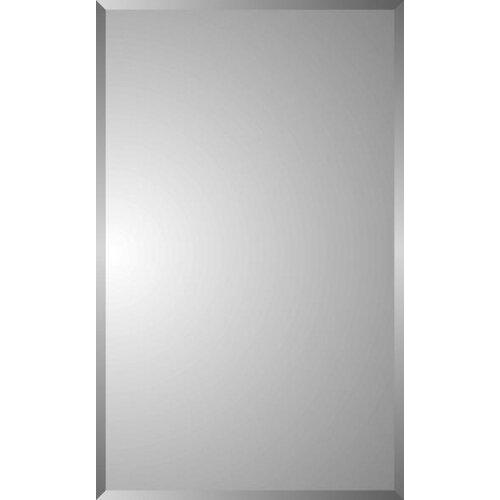 Zaca spacecab nunki 16 x 26 recessed beveled edge for Zaca bathroom cabinets