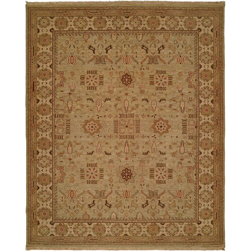 Wildon Home ® Soumak Light Green / Ivory Rug