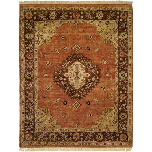 Wildon Home ® Terracotta / Brown Rug