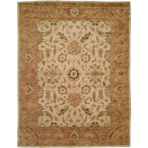 Wildon Home ® Empire Ivory / Peach Rug