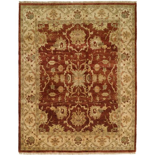 Wildon Home ® Antique Rust / Ivory Rug