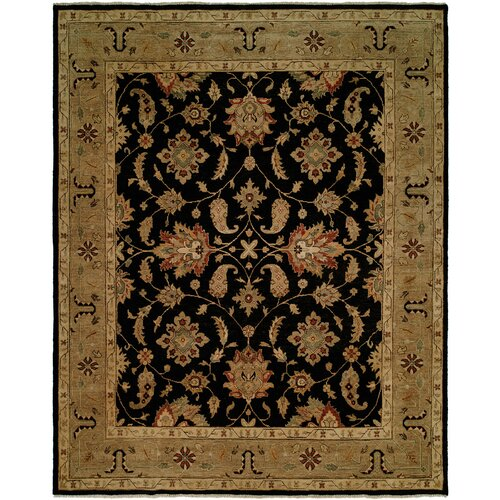 Wildon Home ® Black / Camel Rug