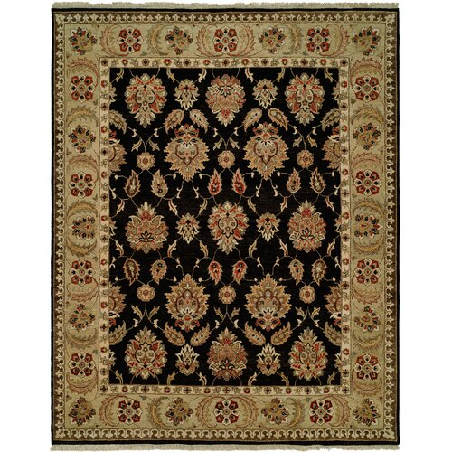 Wildon Home ® Black / Gold Rug