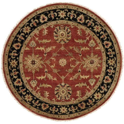 Wildon Home ® Rust / Black Rug