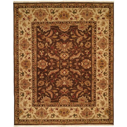 Wildon Home ® Soumak Brown / Ivory Rug