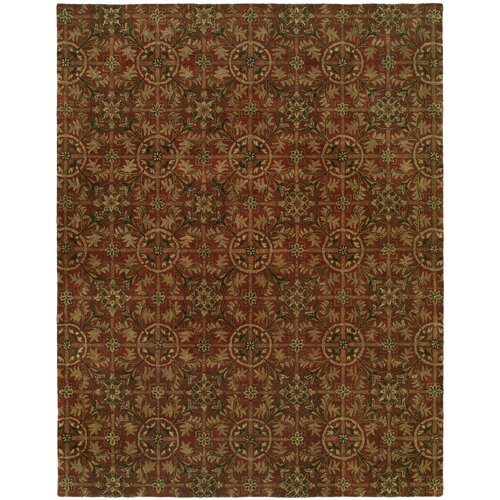 Wildon Home ® Newport Mansions Rust Chateau Rug