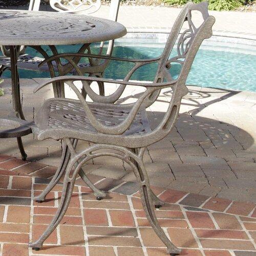 Home Styles Malibu Dining Arm Chairs