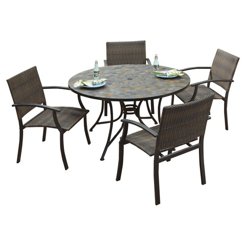 Home Styles Stone Harbor 5 Piece Dining Set