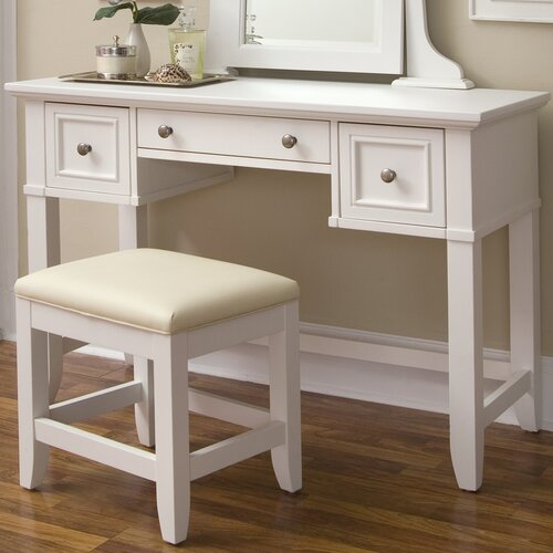 Home Styles Naples Vanity with Mirror