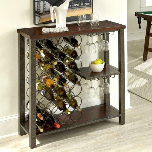 Cabin Creek 21 Bottle Wine Rack