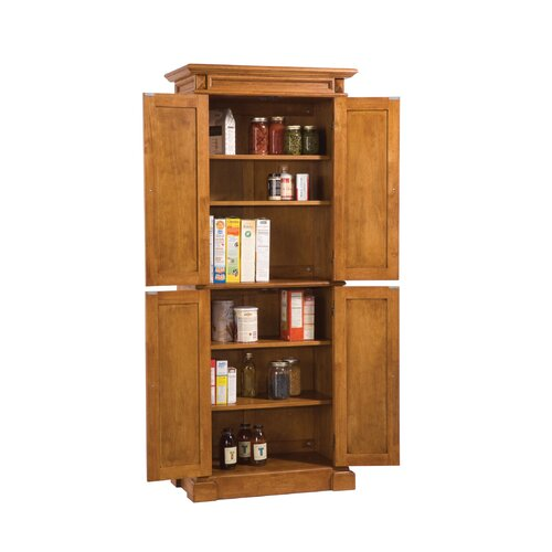 "Home Styles Cottage Oak 72"" Kitchen Pantry"