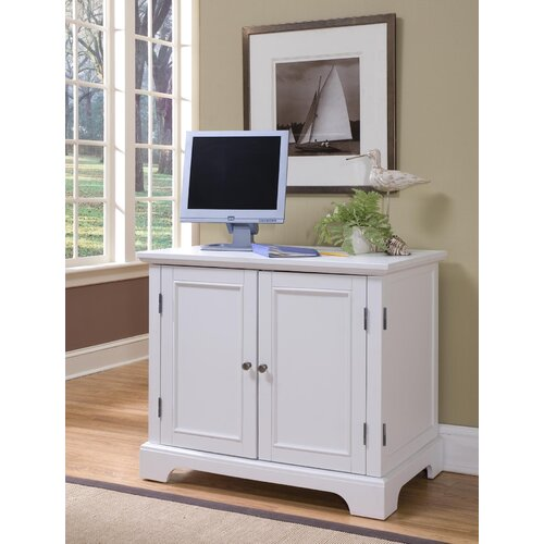 "Home Styles Naples 37.75"" Compact Office Cabinet"