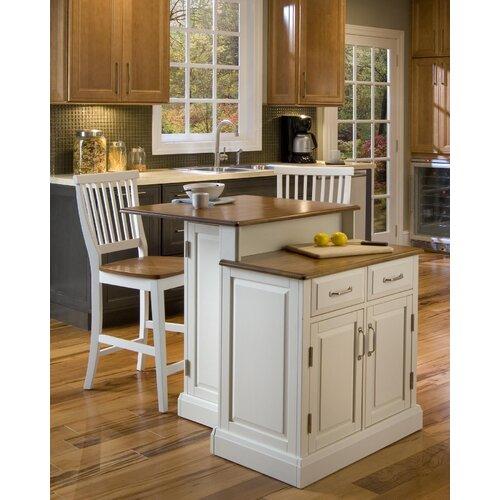 Home Styles Woodbridge Kitchen Island Set