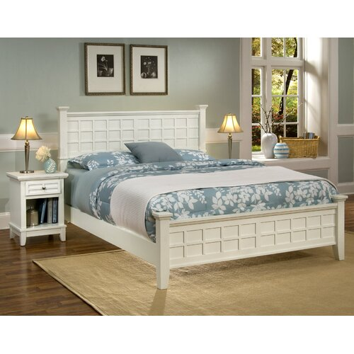 Home Styles Arts and Crafts Panel 2 Piece Bedroom Collection