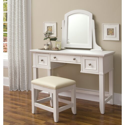 Home Styles Naples Vanity Bench