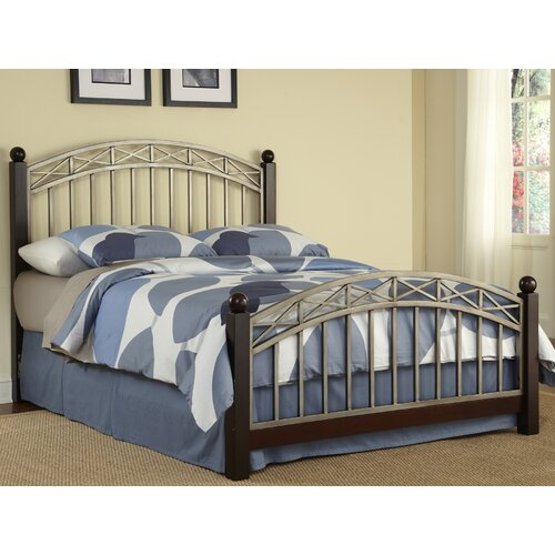 Home Styles Bordeaux Metal Bed