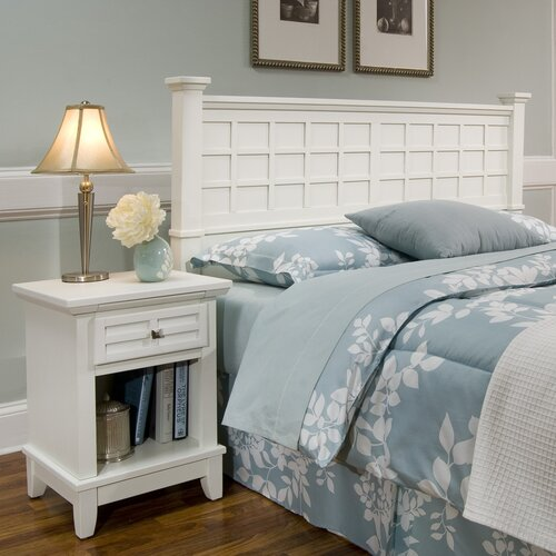 Arts and Crafts Queen Panel 2 Piece Bedroom Collection